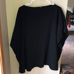 New York and Company knitted poncho
